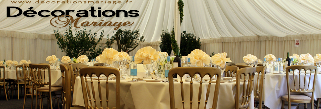 Decorations Mariage